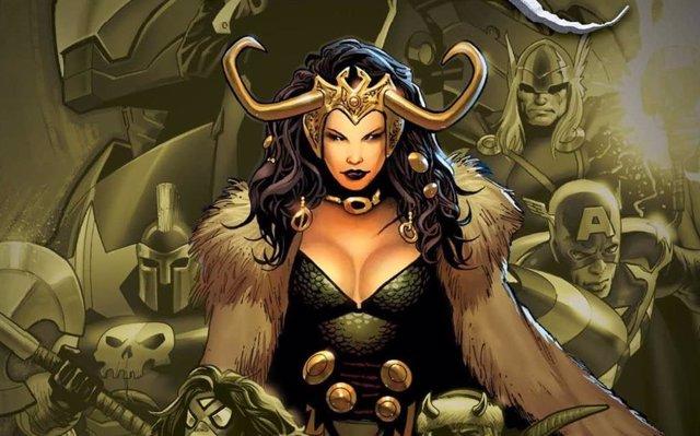 Lady Loki en los cómics de Marvel