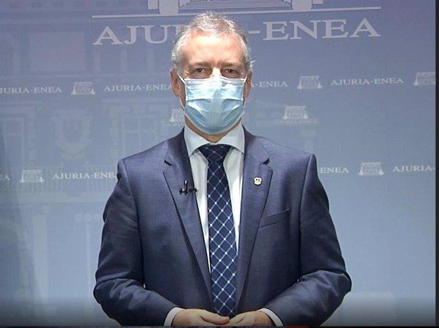 Archivo - El Lehendakari, Iñigo Urkullu.