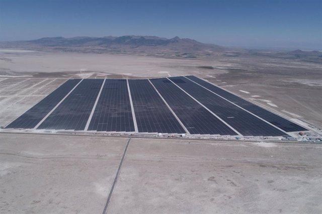Proyecto solar de Karapinar en Turquía