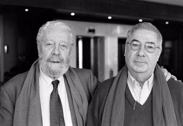 Luis García Berlanga y Rafael Azcona