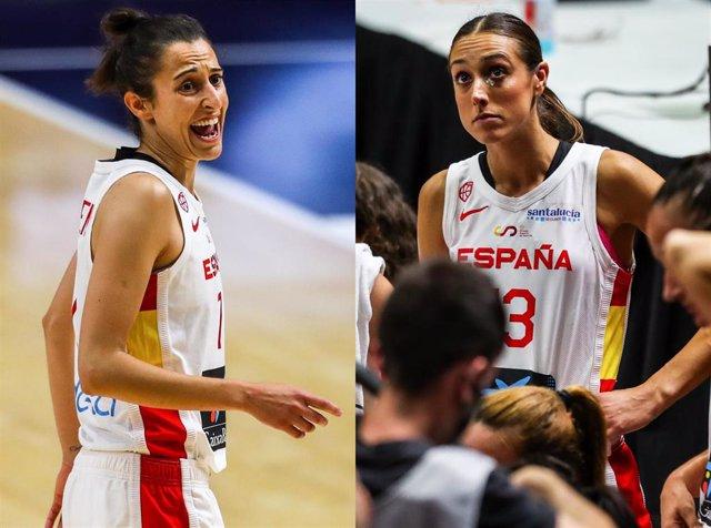 Alba Torrens y Tamara Abalde