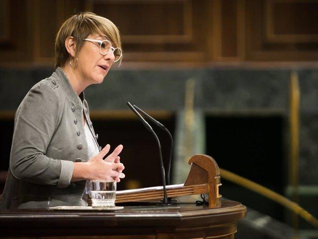 Archivo - Arxiu - Lourdes Ciuró, consellera de Justícia de la Generalitat.