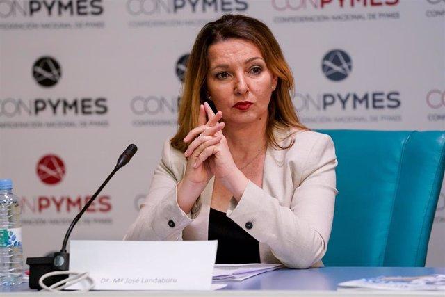 La secretaria general de la unión de autónomos UATAE, María José Landaburu.