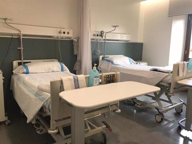 Archivo - Imagen de recurso 2 del Hospital General de Mallorca, cama, habitación, centro hospitalario, Palma, archivo