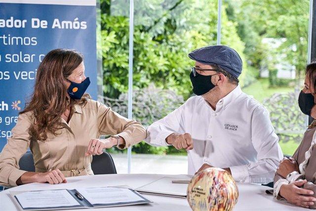 Repsol y el Cenador de Amós lanzan la primera comunidad solar del sector gastronómico
