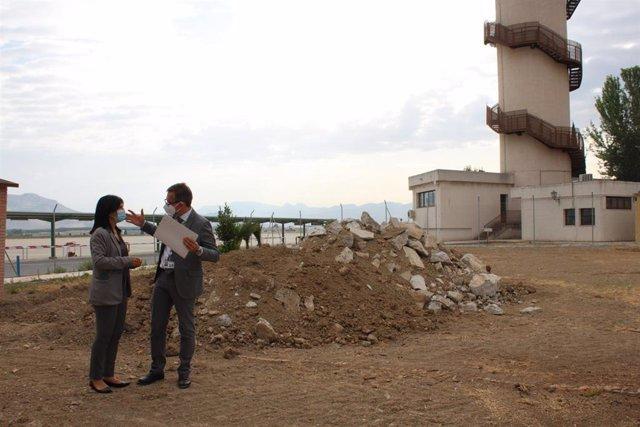 El aeropuerto de Granada inicia la obra de reforma y ampliación del edificio terminal.