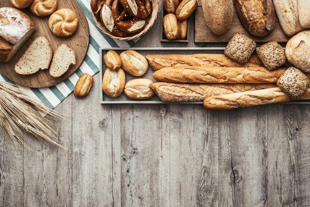 Archivo - Fresh tasty bread