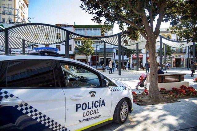 Archivo - La Policía Local De Torremolinos