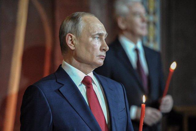 Archivo - El presidente ruso, Vladimir Putin.
