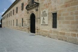 Archivo - Sede de la UNIA en Baeza, foto de archivo