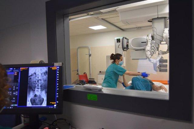 Nuevo equipo de radiología convencional del Hospital Reina Sofía de Córdoba.