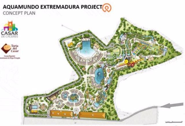 Casar de Cáceres contará con un parque acuático promovido por empresas especializadas en el sector