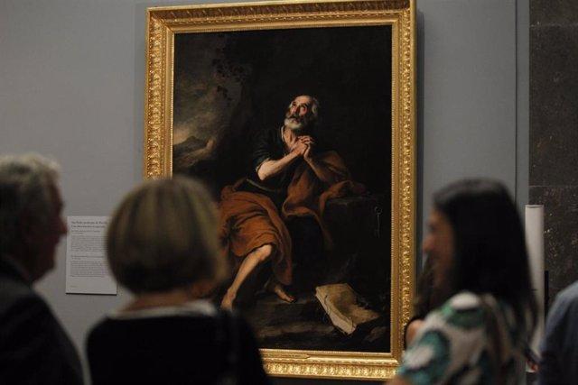 Archivo - El lienzo San Pedro Penitente de Murillo