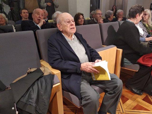 Archivo - Arxivo - L'expresident català Jordi Pujol