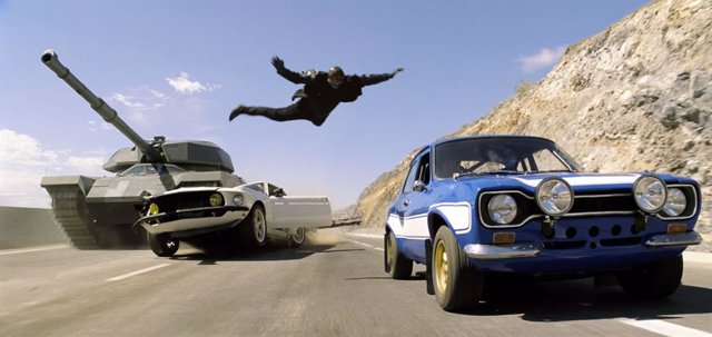 Archivo - Película Fast and Furious