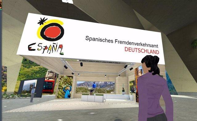 Feria virtual Spanien Erleben-Digitale Reisemesse 2021.