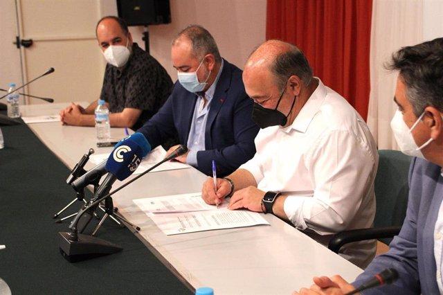 Convenio entre la RTVA y la Mancomunidad de Islantilla.