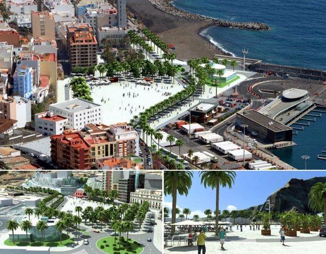 Archivo - Propuesta del Plan Territorial del Puerto de Santa Cruz de La Palma