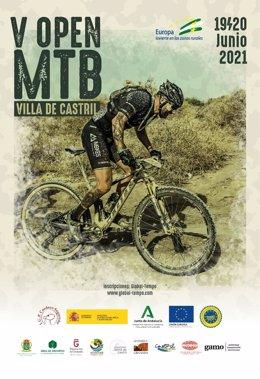 Cartel del Open Mountain Bike de Castril (Granada).