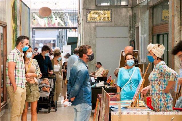 Pasaja del arte en San Juan en Badajoz en 2020.