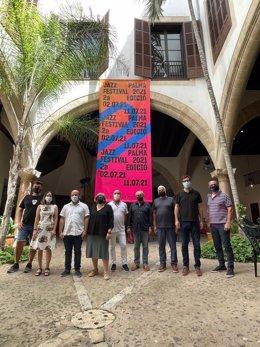 Presentación del Festival Jazz Palma 2021.