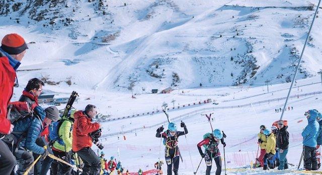 Campeonatos de esquí de España celebrados en Boí Taüll en 2019.