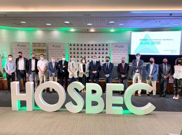 Hosbec clausura su asamblea anual con la vista puesta en la recuperación del sector