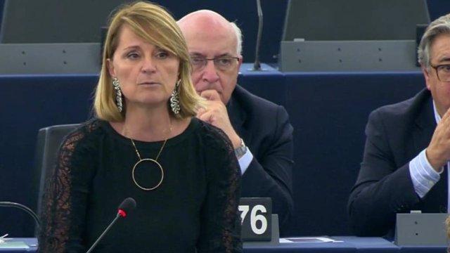 Archivo - La eurodiputada del PP, Rosa Estaràs.