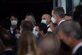El Rey y Aragonès se saludan en un encuentro de empresarios en la reunión del Círculo en Barcelona