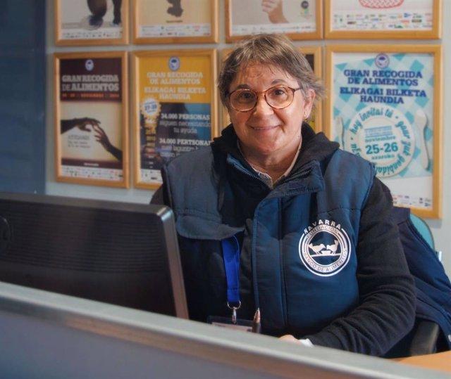 Marisol Villar Lecumberri, nueva presidenta de la Fundación Banco de Alimentos de Navarra