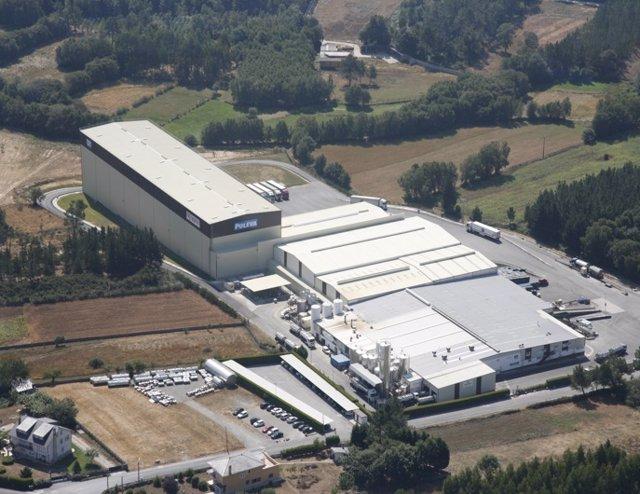 Archivo - Planta de Lactalis en Vilalba (Lugo)