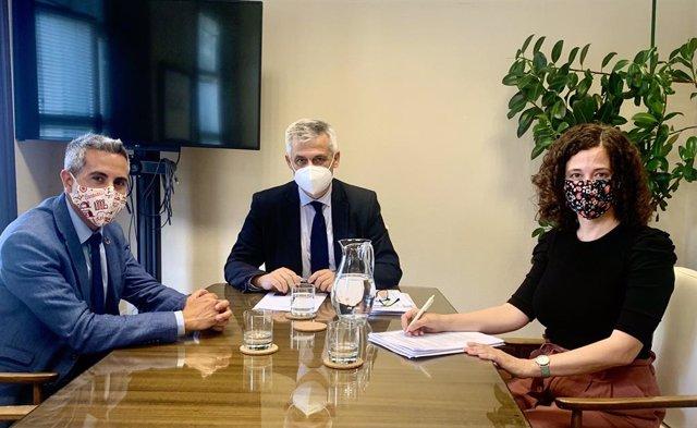 Zuloaga con secretario Estado Agenda Urbana