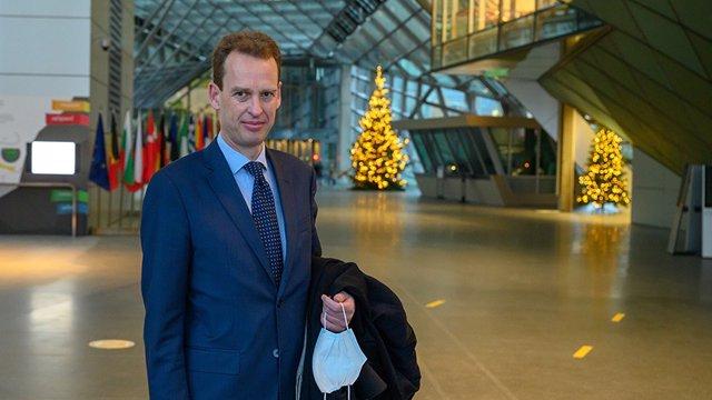 Archivo - El miembro del Comité Ejecutivo del BCE, Frank Elderson.