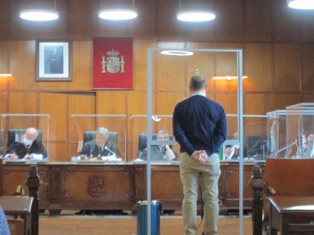 Archivo - El propietario de la finca durante el juicio celebrado en la Audiencia de Jaén