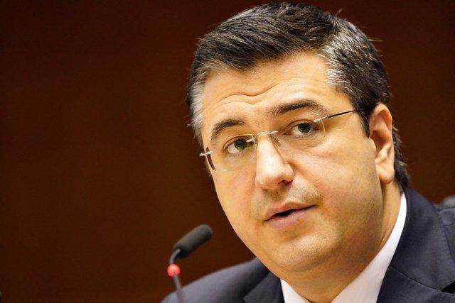 Archivo - El presidente del Comité de las Regiones de la UE, Apostolos Tzitzikostas, durante la 139ª sesión plenaria del Comité Europeo de las Regiones celebrada en Bruselas, (Bélgica), a 30 de junio de 2020.