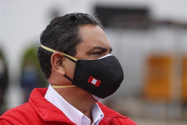 Archivo - El exministro del Interior de Perú, Jorge Montoya