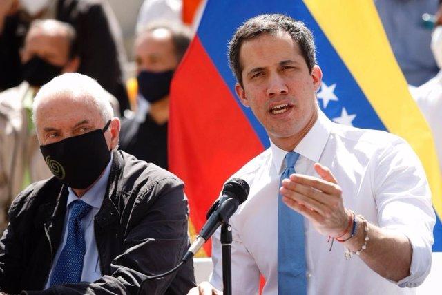 Archivo - Juan Guaidó