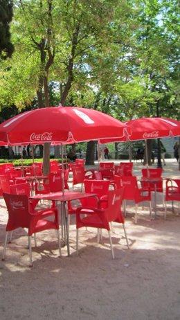 Archivo - Terraza, verano, bar