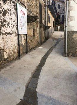 Cabezabellosa estrena pavimentación y redes de abastecimiento gracias al Plan ReActiva de la Diputación de Cáceres