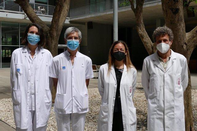 Olivia Ferrández, Sant Grau, Elena Martín-García y Rafael Maldonado
