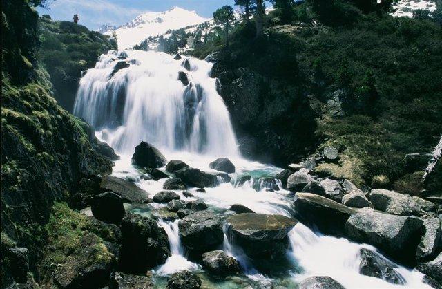 Cascada de Aigualluts del Parque Posets-Maladeta
