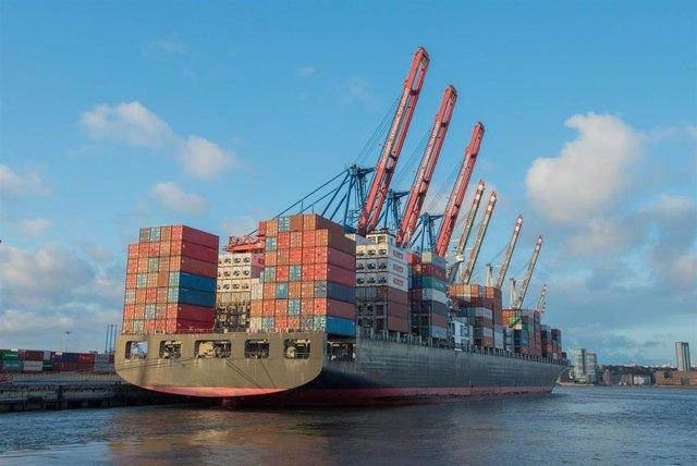Archivo - Foto Y Nota De Prensa: Las Exportaciones Andaluzas Alcanzan Los 22.888 Millones De Euros Hasta Octubre, Con Un Superávit Comercial De 2.200 Millones