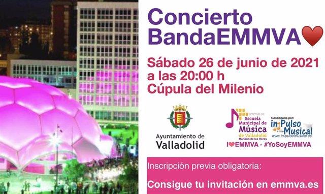 Concierto de Fin de Curso de la Escuela Municipal de Música de Valladolid.