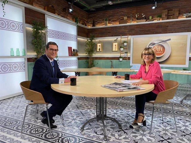 Antonio Garamendi (CEOE) entrevistat per Gemma Nierga.