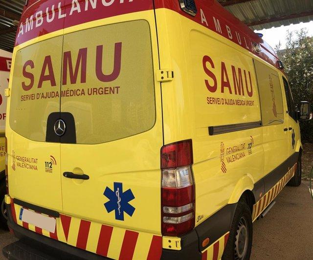 Archivo - Imagen de archivo de una SAMU