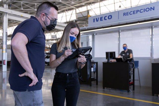 Taller conectado de Iveco.