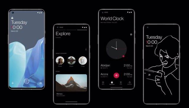 OxygenOS en OnePlus 9 Pro