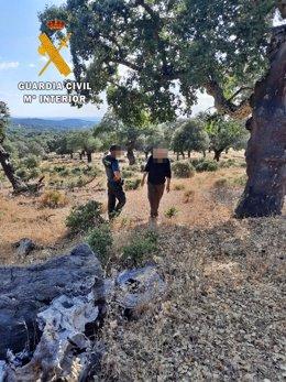La Guardia Civil localiza a un hombre desaparecido en Barcarrota