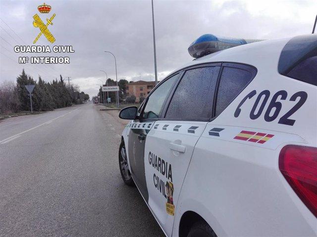 Archivo - Guardia Civil en Villacañas