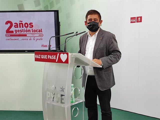 El secretario general del PSOE de Jaén, Francisco Reyes